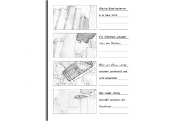 Storyboard Animation Handy Ufo