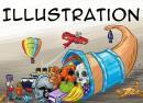 Illustration Fuellhorn Kinderbuch