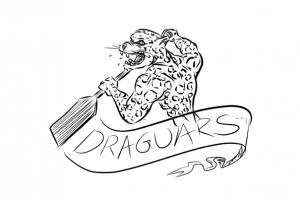 Entwurf Logo Drachenboot Jaguar Paddel
