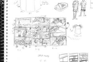 skizze-entwurf-layout-comic