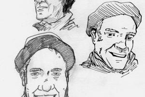 skizzen-portrait-mann-mütze