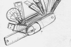 skizze-entwurf-logo-schweizer-messer
